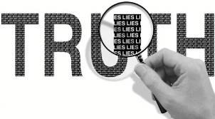 Verdad llena de mentiras